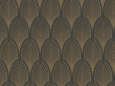 Dark Art Deco Background