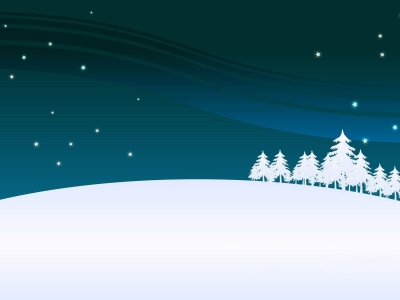 Dark Winter Holiday Wallpaper