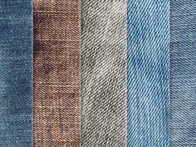 Denim Texture Template For Ppt