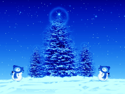 download free blue christmas background #11751
