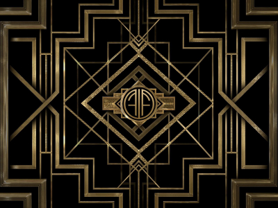 Electrock Art Deco Background