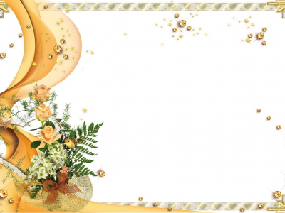 Elegant Wedding Invitation Frame Background