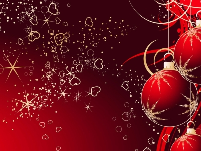 Fancy And Beautiful Christmas Wallpaper