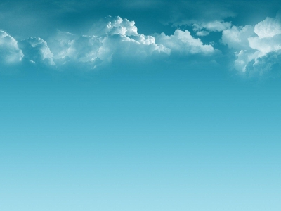 Fantastic Blue Sky Wallpaper