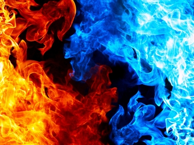 Fire, Flame Background Ppt