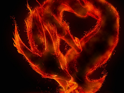Flame Free Background For Windows