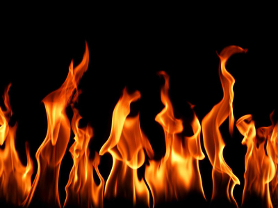 Flame Background Template