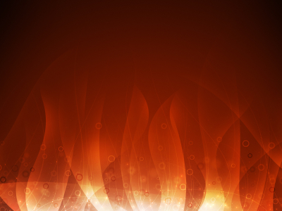 Flame Background Template Ppt