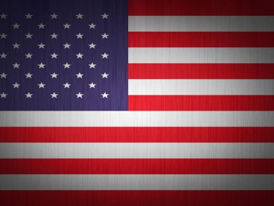 Flat American Flag Wallpaper