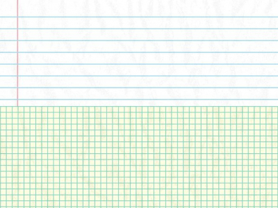 Flat And Square Notebook Paper Background
