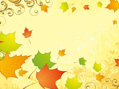 For Cover Autumn Leaves Background