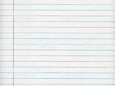 For School Notebook Paper Background