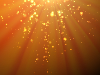 free bokeh background with orange rays vector #13289