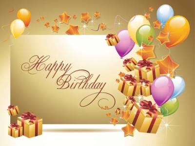free happy birthday ppt background #635