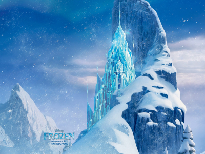 Background High-quality Frozen