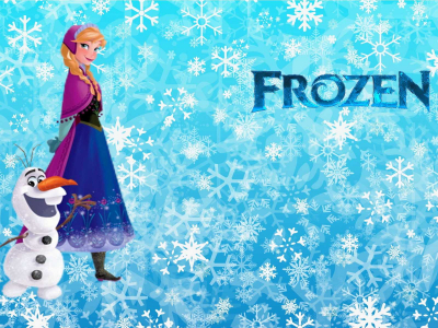 Frozen Free Background