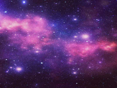 Galaxy Background Template