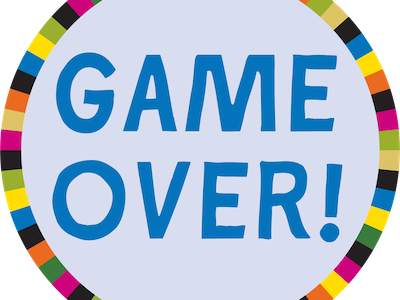 Game Over Png Template For Ppt