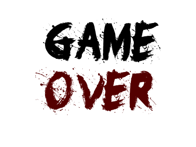 Game Over Png Image