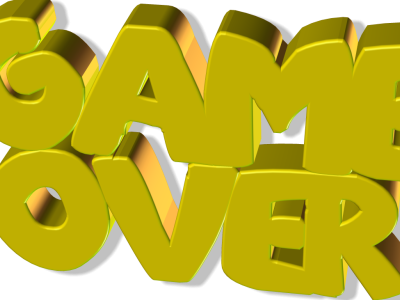 Game Over Png Transparent