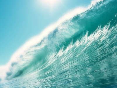 Giant Big Wave Wallpaper