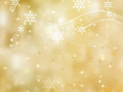golden holiday ppt background #1039