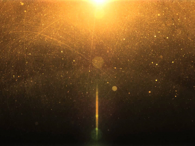 Golden Light Motion Background