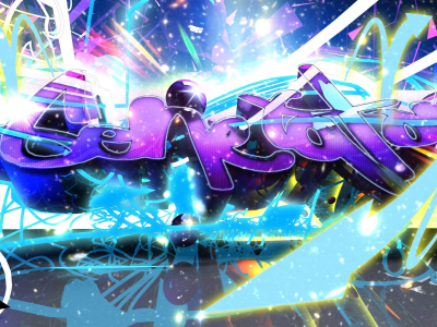 Graffiti Disco Wallpaper