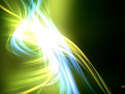 green abstract lines background #870