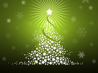 green christmas noel background #1283