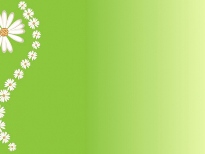 green floral attractive background #1355