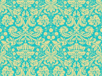 green floral pattern background #3420