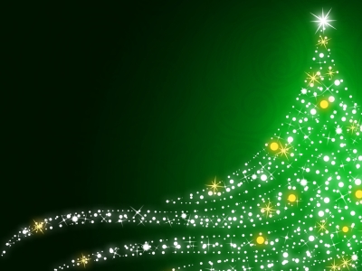Green Hd Free Christmas Wallpapers For