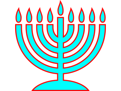 Green Menorahs Png