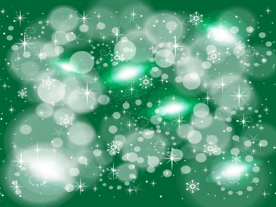 Green Winter Holiday Background