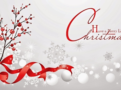 Grey Merry Christmas Celebration Background