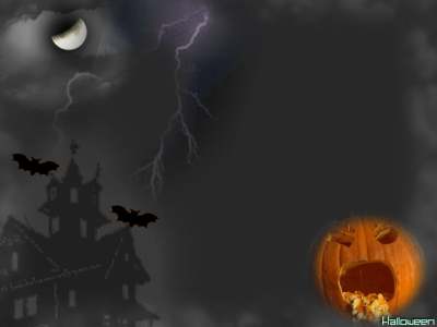 Halloween Background For Ppt