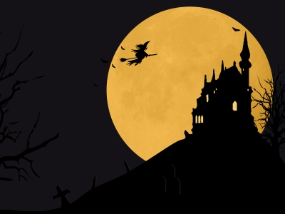 Halloween Powerpoint Background Hd