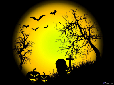 halloween powerpoint background wallpaper #891