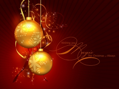Happy Christmas Background Photo