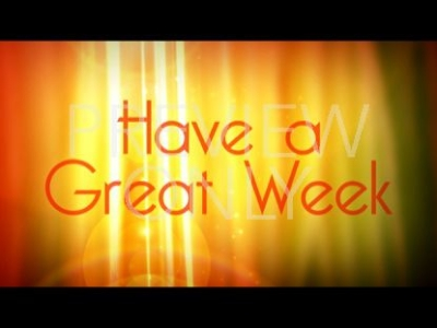 Have A Great Week Presentations Ppt