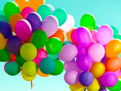 Hd Colorful Balloons Background
