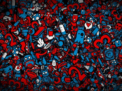 Hd Graffiti Numbers Wallpaper