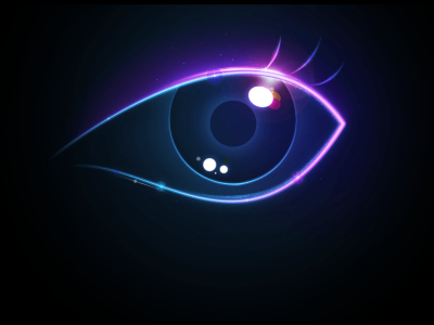 Hd Neon Eye Background