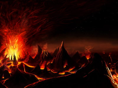 Hell Surfacing Background