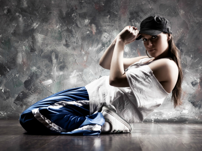 Hip Hop Background Girl Hd
