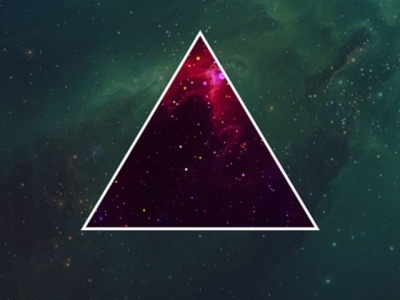 Images About Triangles Background