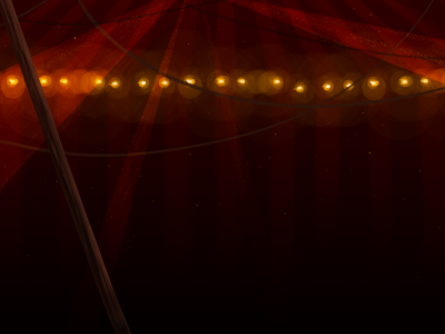 Inside Circus Tent Background