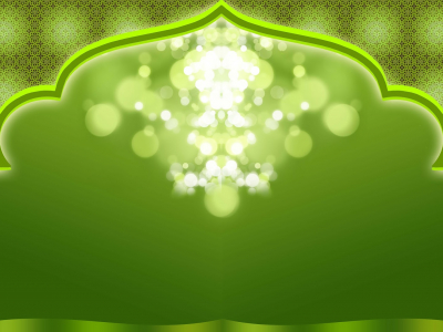 islamic background wallpaper green presentation