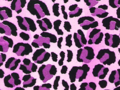 leopard print purple background